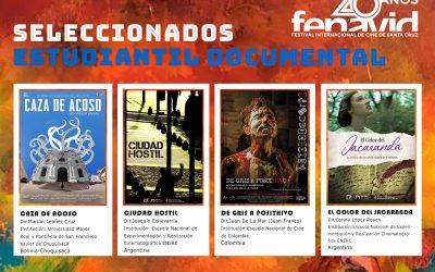 Estamos en el Festival de Cine de Santa Cruz !!!! cortometraje CAZA DE ACOSO