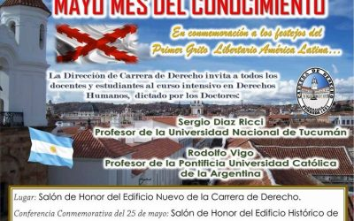 En conmemoración a los festejos del Primer Grito Libertario en América Latina